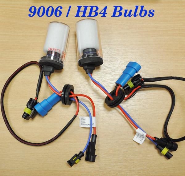 HB4 9006 HID Xenon Bulbs For Headlight 35w